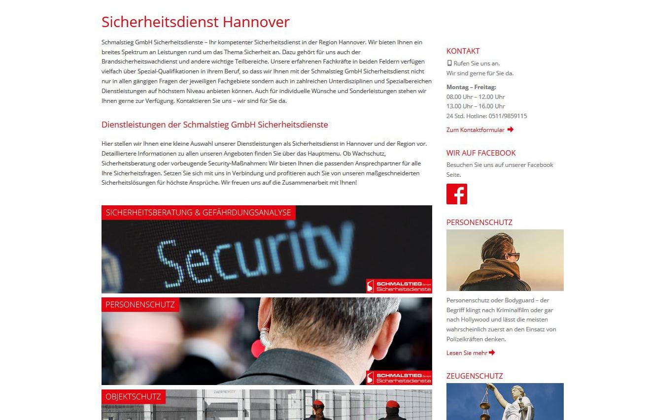 Schmalstieg Sicherheitsdienste GmbH Hannover (2015)