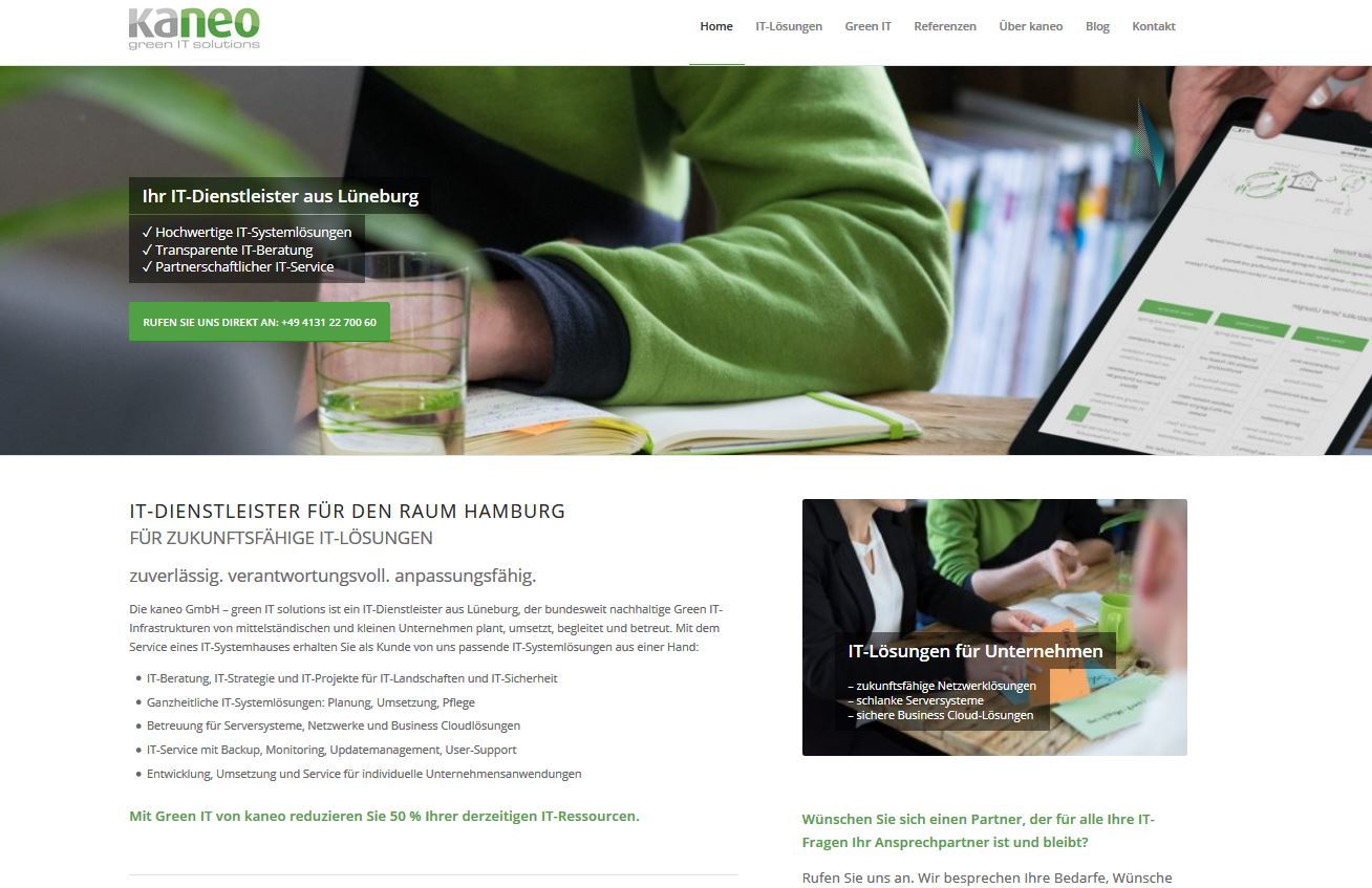 Projekt: kaneo Green IT Solutions (2016-2017)